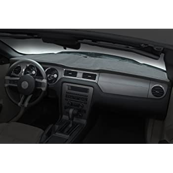 DashMat 71840-00-76 Custom Fit Dash Cover for Select Dodge Ram 1500 Models Velour Smoke