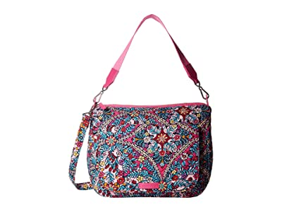 Vera Bradley Carson Shoulder Bag (Kaleidoscope) Shoulder Handbags