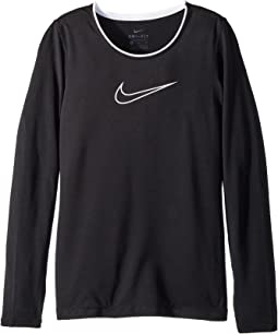 Nike Kids Pro Long Sleeve Top (Little Kids/Big Kids)