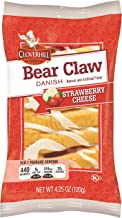 product image for Cloverhill Bear Claw Strawberry Cheese Danish, 4.25 Ounce -- 36 per case.