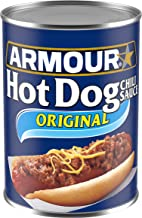 Armour Star Hot Dog Chili Sauce, Canned Food, 12 - 14 OZ Cans