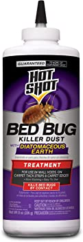 Hot Shot 8-Ounce Bed Bug Killer Dust With Diatomaceous Earth