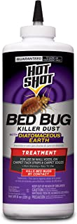 Hot Shot Bed Bug Killer Dust With Diatomaceous Earth, 8-Ounce