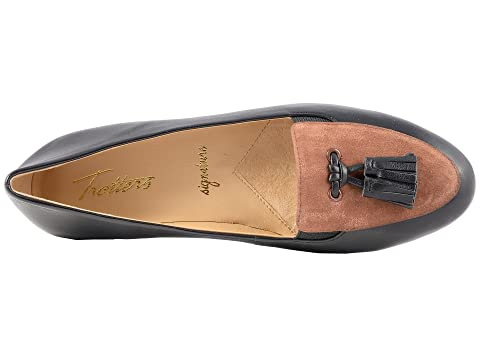 Trotters Caroline Black/Tobacco Soft Nappa Leather/Kid Suede Free Shipping Shopping Online Clearance Comfortable Fast Delivery Online Clearance Great Deals Cheap Find Great uyNfXuLeu