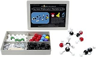 Molecular Model Kit Biochemistry - Chemistry Organic and Inorganic Modeling Students Set (125 Pieces)