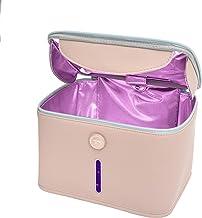 Hope C+ selected UV light Sanitizer Bag with 12 UVC LEDs, Pink UVC sterilizer Bag, Portable UV sanitizer Bag UVC Light Ste...