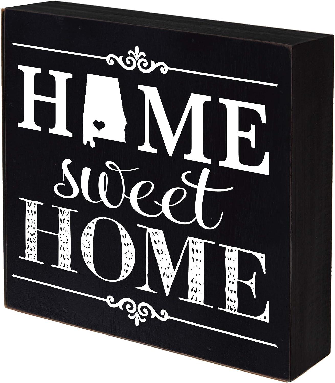 LifeSong Milestones Alabama Long-awaited Home State Max 49% OFF Shadow Sweet Hom Box