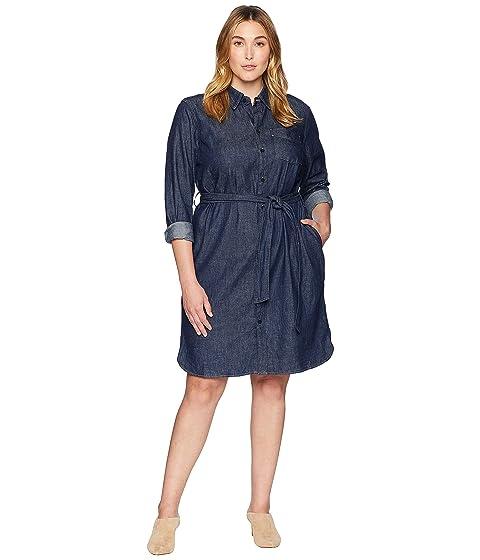 Lauren Ralph Lauren Plus Size Denim Shirtdress At Zappos
