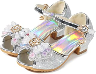 no heel girls sandals