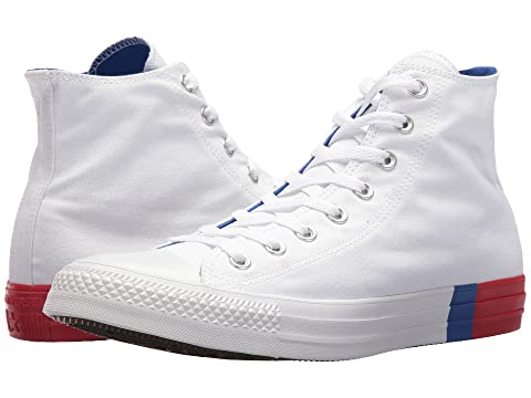 Converse Chuck Taylor® All Star Tri Block Midsole Hi. 34% OFF!  42.9934%  OFF!MSRP   64.95. PAIR  TOPP  BOTT  LEFT  BACK  RGHT  FRNT  Video. PAIR 2180fbb09