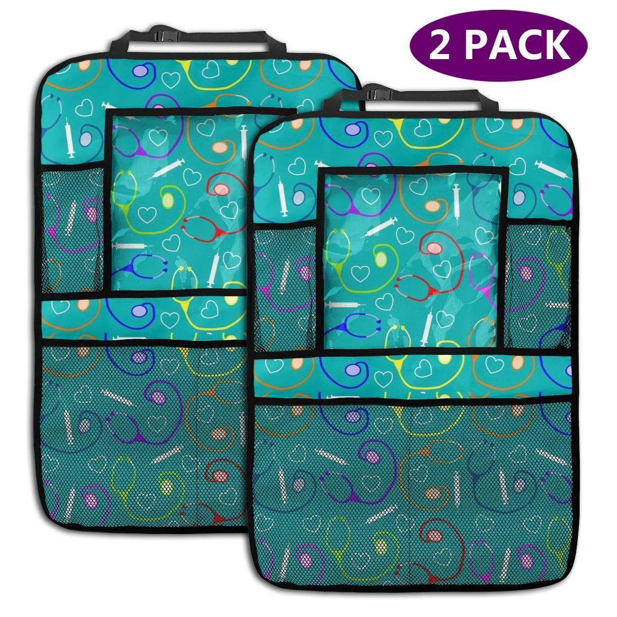Sootot Nurse Medical Car Backseat Organizer Tablet Holder Organizador de Asiento de Coche Universal 2 Pack: Amazon.es: Coche y moto