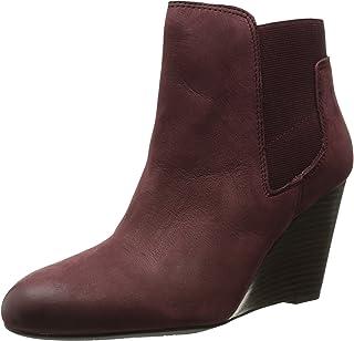 أحذية نسائية طويلة حتى الكاحل وتدي من Franco Sarto Octagon من جلد كوردوفان 9. 5