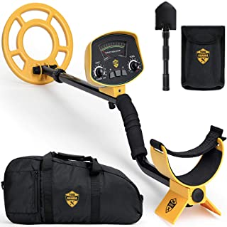 ToolGuards Metal Detector with Carry Bag & Shovel (Newest 2019 Model with High-Accuracy)