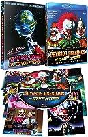 Los Payasos Asesinos Del Espacio Exterior BD con Funda y 8 Postales 1988 Killer Klowns From Outer Space