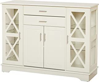 Target Marketing Systems Kendall Buffet, Antique White