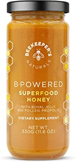 BEEKEEPER'S NATURALS B.Powered - Fuel Your Body & Mind, Helps with Immune Support, Mental Clarity, Enhanced Energy & Athle...