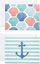 American Greetings Thank You Cards with Envelopes, Beach Theme (50-Count)