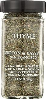 Morton & Bassett Thyme, 1-Ounce jar