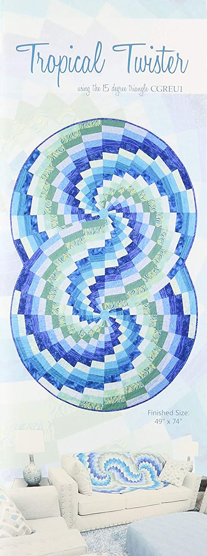 Phillips Fiber Art PFA-TTP Tropical Twister Pattern
