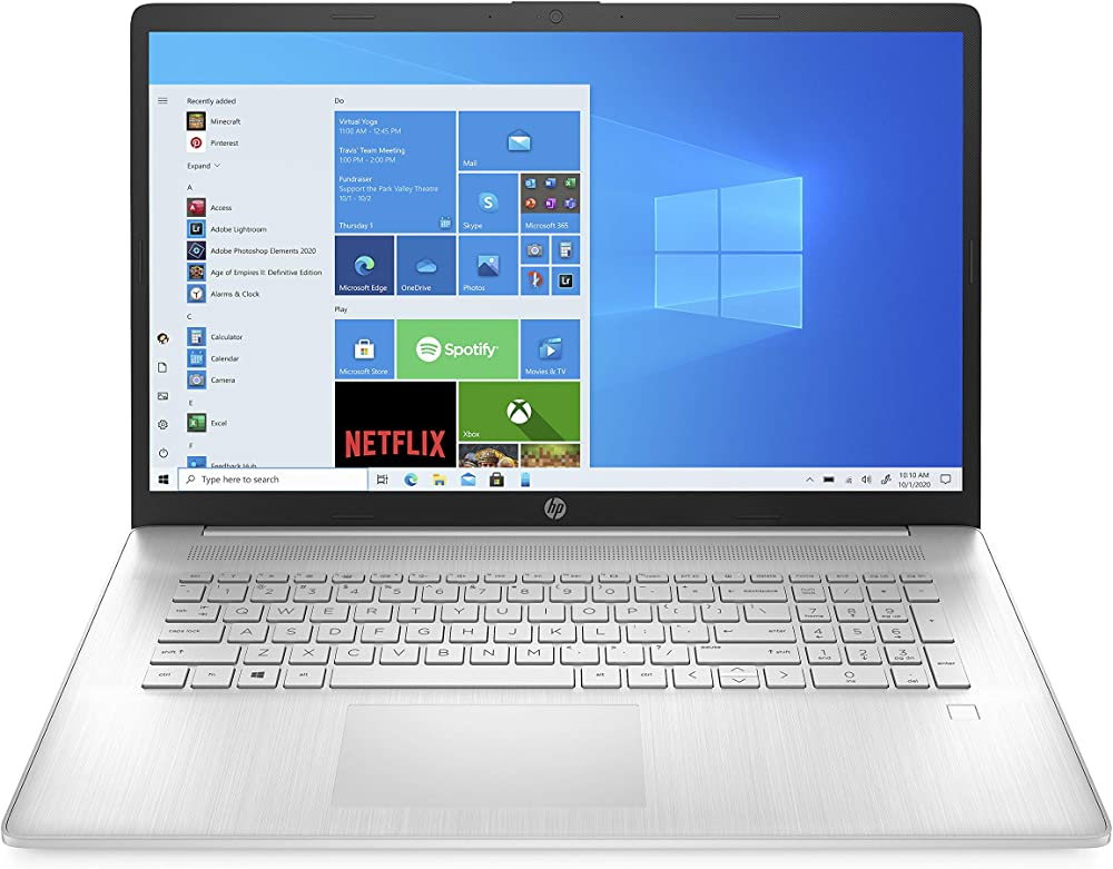 Hp - pc portatile intel core i5 grafica intel iris x ram 8 gb ssd 512 gb ?17-cn0003sl