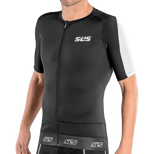 927938057 SLS3 Triathlon Tri Top Men Short Sleeve | Mens Tri Top Aero Cycle Jersey | 1