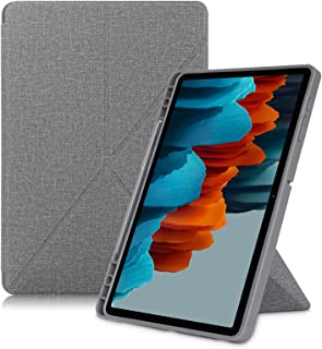"OIATROE Case For Samsung Galaxy Tab S7 FE 12.4"" 2021, Premium PU Leather Case, Anti-dirty and Anti-drop, Slim Flip Shell C..."