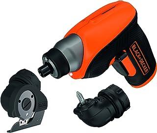 黑色 + Decker CS3652LCCT +amp;-QW 锂电池 3.6 V 无绳螺?#24247;?                          srcset=
