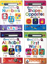 Page Publications Collection - Little Learning Write and Wipe Collection - Best Toddler Activity Book Set of 4 - Early Lea...