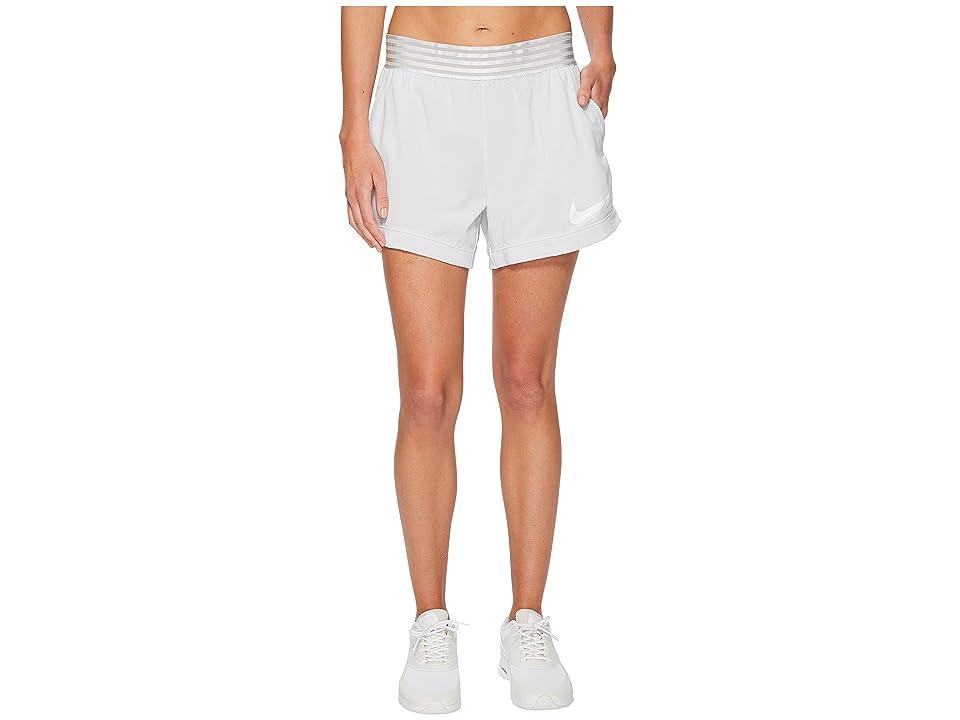 Nike Flex Training Short (Pure Platinum/White) Women