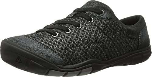 KEEN Wohommes Mercer Lace II CNX Décontracté chaussures, noir, 8.5 M US