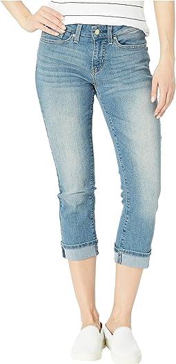 Mid-Rise Capri Jeans