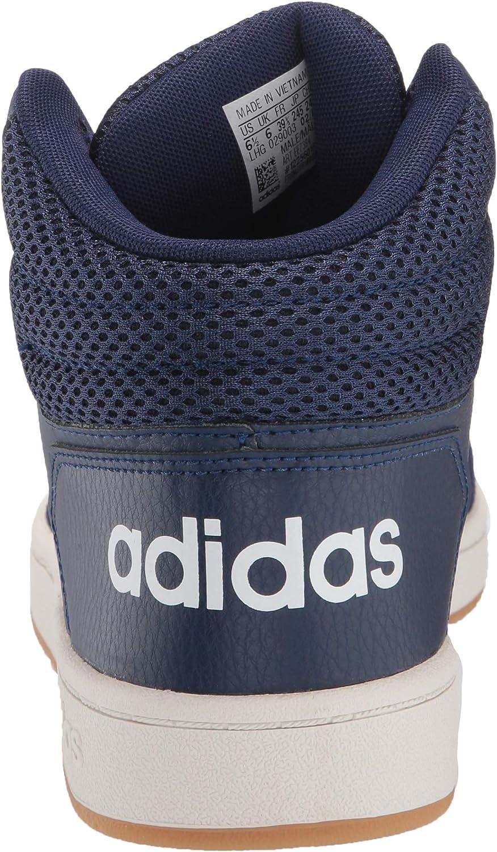 Amazon.com   adidas Men's Hoops 2.0 Mid Sneaker   Fashion Sneakers
