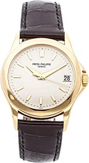 Patek Philippe Calatrava Mechanical (Automatic) Ivory Dial Mens Watch 5107J-001 (Certified Pre-Owned)