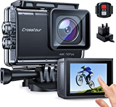 Action Camera Native 4K 50FPS 20MP Touch Screen 131Feet...
