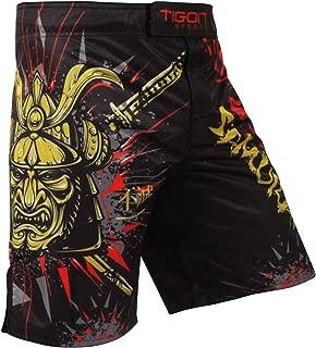 Tigon Pro MMA Shorts Fight Muay Thai UFC Grappling Samurai Short Kick Boxing Cage Pants Kickboxing