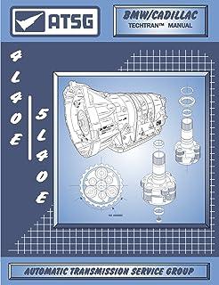 ATSG 5L40E / 4L40E GM THM Manual de reparo de transmissão (5L40E Tools - Corpo da válvula 5L40E - Transmissão 5L40E para v...