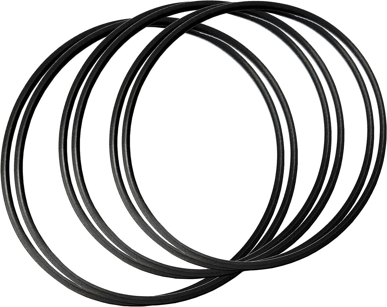 4 Drive Belts and 2 Door Belt CD Player Belts for Sony CD Player Model CDP-CX300 CDP-CX335 CDP-CX350 CDP-CX355 CDP-CX400 CDP-CX450 CDP-CX455 421606101