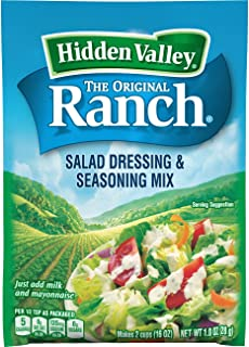 Best hidden valley ranch dip mix ingredients Reviews