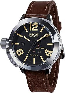 U-Boat - Reloj Automático U-Boat Classico Tungsteno Movelock, Acero, Negro, 45 mm, 8070