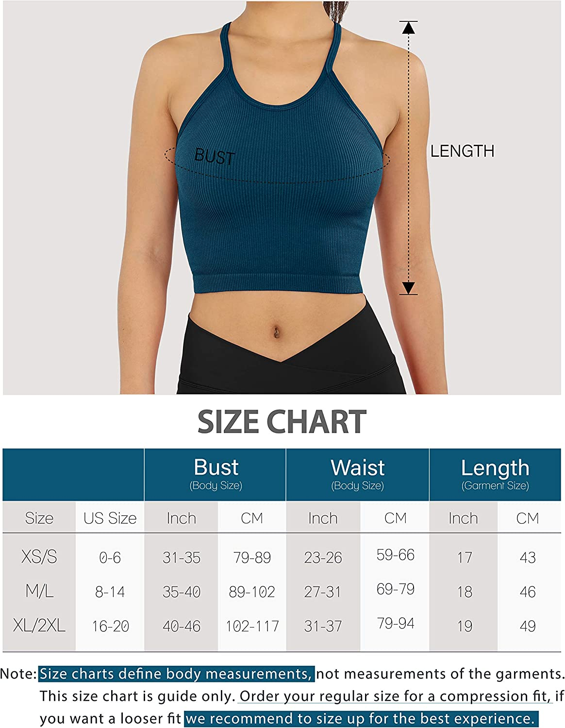 ODODOS Womens Crop Washed Seamless Camisole Crop Tank Tops