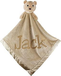 personalized teddy bear blanket