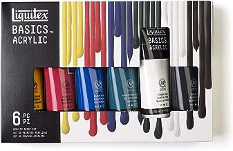 Liquitex BASICS 6 Tube Acrylic Paint Set, 118ml