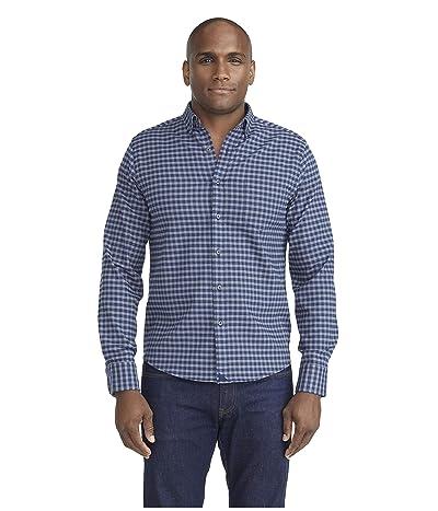 UNTUCKit Wrinkle-Free Performance Flannel Shirt (Blue) Men