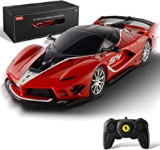 BEZGAR Officially Licensed RC Series, 1:24 Scale Remote Control Car Ferrari FXX K EVO Electric Sport Racing Hobby Toy Car ...