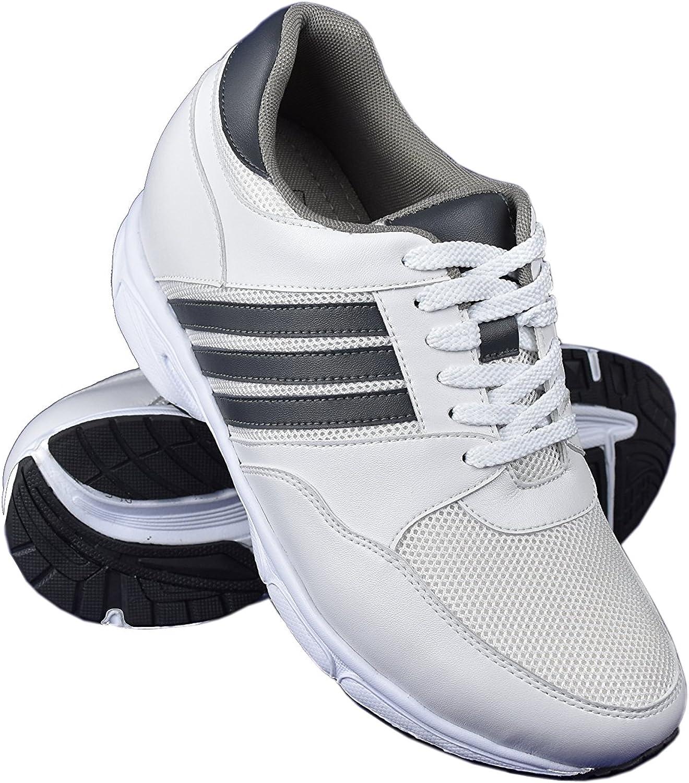 Zerimar Zapatos con Alzas Hombre  Zapatos Deportivos con Alzas Que Aumenta su Altura + 8 cm  Zapatillas Hombre de Vestir  Zapatos Hombre Casuales