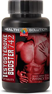 Saw palmetto berry extract - TESTOSTERONE BOOSTER 742MG - sexual desire support (1 Bottle)