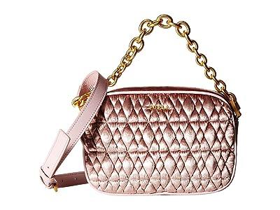 Furla Cometa Mini Crossbody (Rosa) Cross Body Handbags