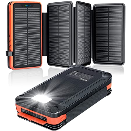 A Addtop Solar Powerbank 25000mah Tragbare Solar Elektronik