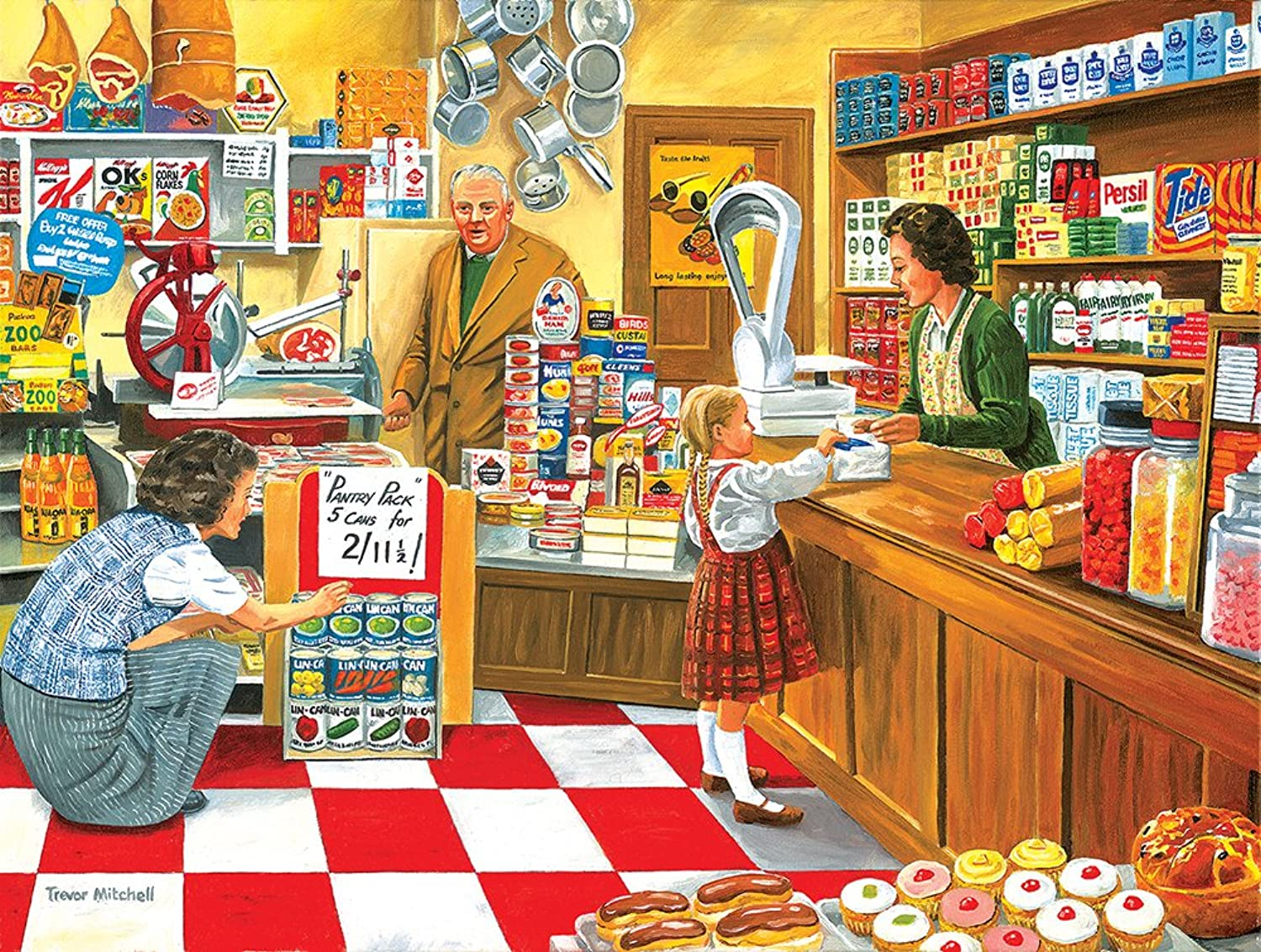 SunsOut 26608  Mitchell  Open all hours  500 pieces jigsaw puzzle