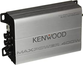 Kenwood 1177524 Compact Automotive/Marine Amplifier Class D Kac-M1824BT, 180W RMS, 400W PMPO, 4 Channel (Renewed)